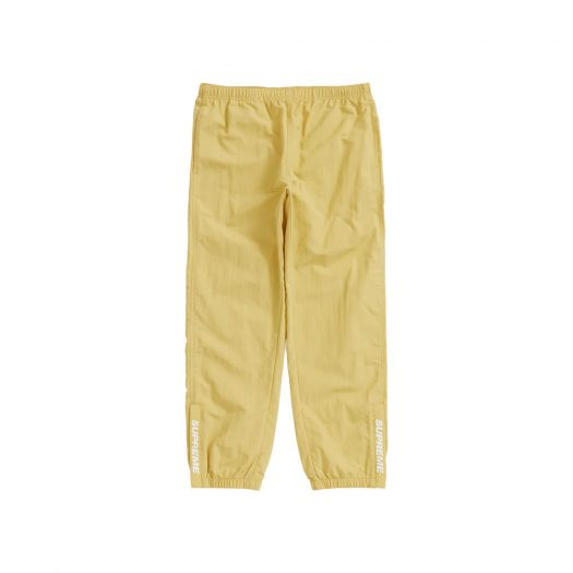 Supreme Warm Up Pant Pale Yellow