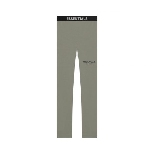 FEAR OF GOD ESSENTIALS Athletic Leggings Charcoal/Grey Flannel