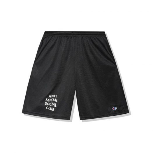 Anti Social Social Club Sports Shorts Black