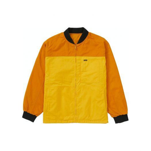 Supreme Reversible Tech Work Jacket Mustard