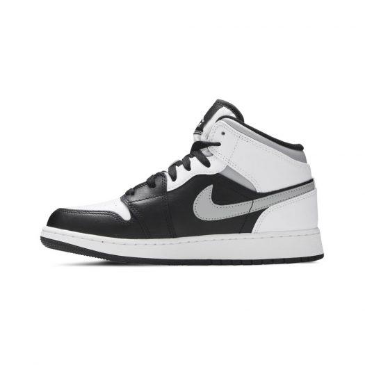 Jordan 1 Mid White Shadow (GS)