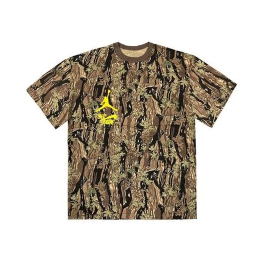 Travis Scott Jordan Cactus Jack Highest T-Shirt Camo