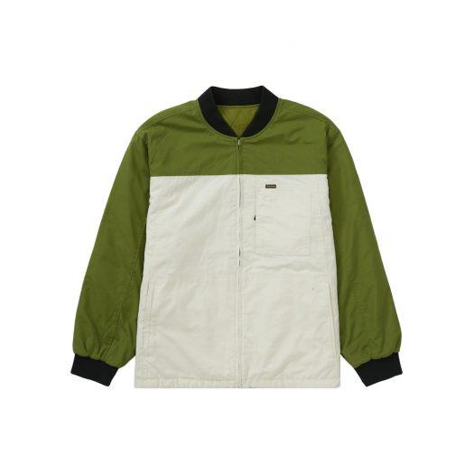 Supreme Reversible Tech Work Jacket Green
