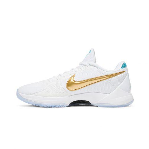 Nike Kobe 5 Protro Undefeated What If White