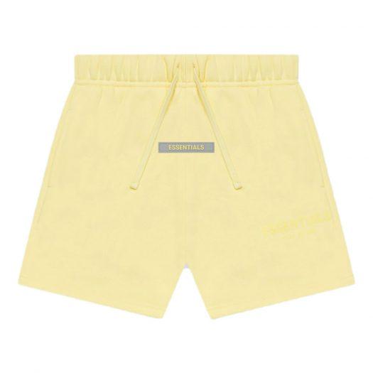 Fear Of God Essentials Kids Shorts Yellow/lemonade
