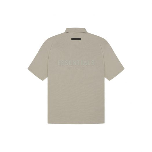 FEAR OF GOD ESSENTIALS Polo Moss/Goat
