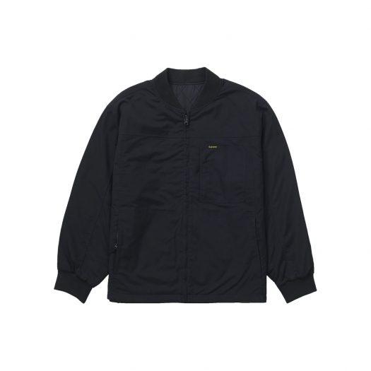 Supreme Reversible Tech Work Jacket Black