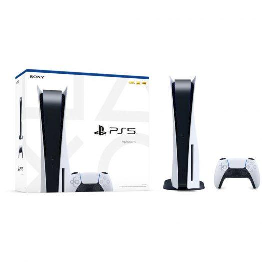 Sony PlayStation PS5 (CN Plug) Blu-Ray Edition Console CFI-1009A White