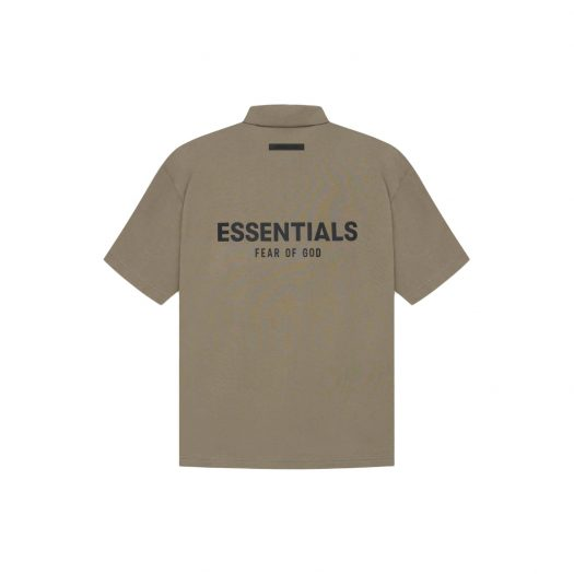 FEAR OF GOD ESSENTIALS Polo Taupe