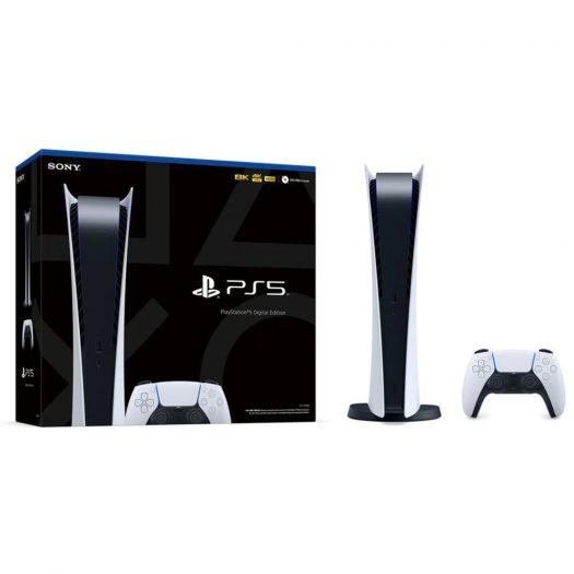 Sony PlayStation PS5 (CN Plug) Digital Edition Console CFI-1009B White
