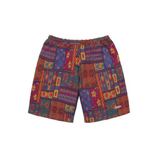 Supreme Patchwork Knit Short Multicolor