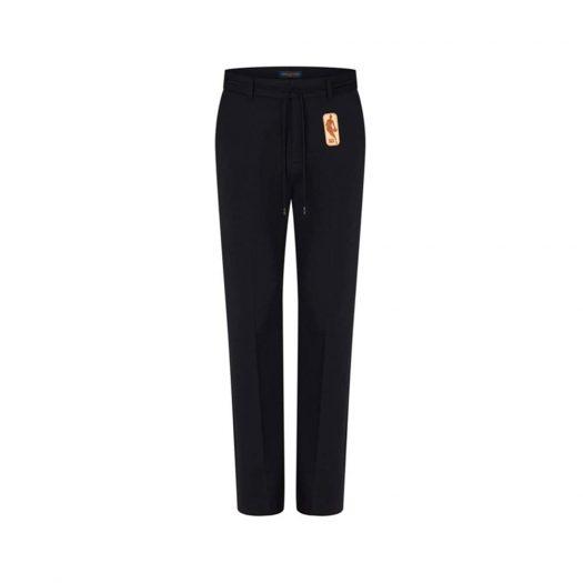 Louis Vuitton x NBA Jersey Classic Pants Black