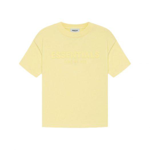 Fear Of God Essentials Kids T-shirt Yellow/lemonade