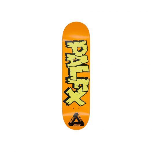 Palace Nein FX 8.1 Skateboard Deck Orange