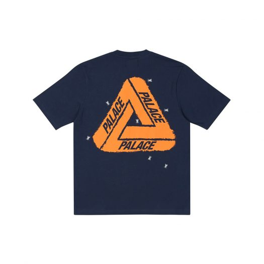 Palace Fly T-Shirt Navy