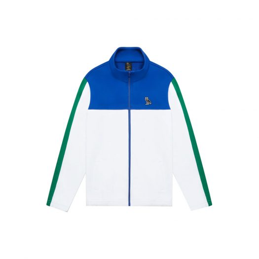 OVO All Court Track Jacket White/Blue/Green