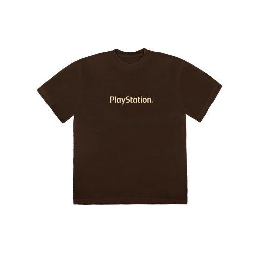 Travis Scott Motherboard Logo II T-Shirt Brown