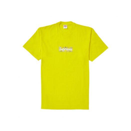 Supreme Bandana Box Logo Tee Yellow