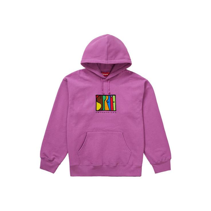 Supreme Enterprises Hooded Sweatshirt Bright Purple