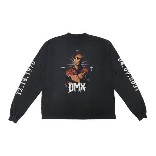 Balenciaga x Yeezy DMX, A Tribute Longsleeve T-Shirt Faded Black