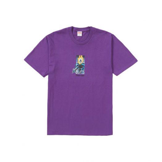 Supreme Ghost Rider Tee Purple
