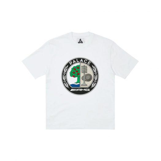 Palace AMG Emblem T-Shirt White