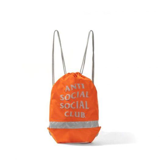 Anti Social Social Club 6th Period Sports Bag Orange
