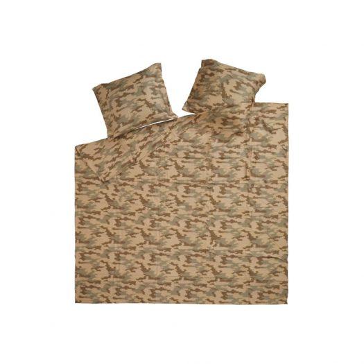 Supreme Logo Camo Duvet + Pillow Set Tan