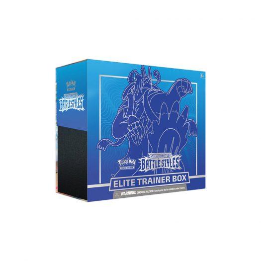 Pokémon TCG Sword & Shield Battle Styles Elite Trainer Box Rapid Strike
