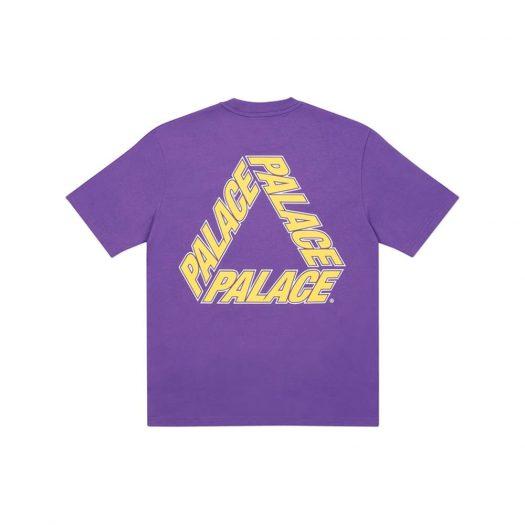 Palace P3 Team T-Shirt Purple
