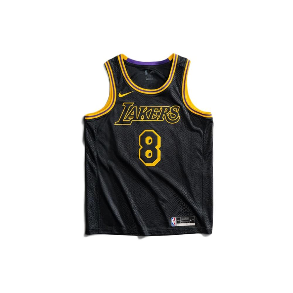 Nike Kids Los Angeles Lakers Kobe Bryant Black Mamba City Edition Swingman Jersey Black/Gold