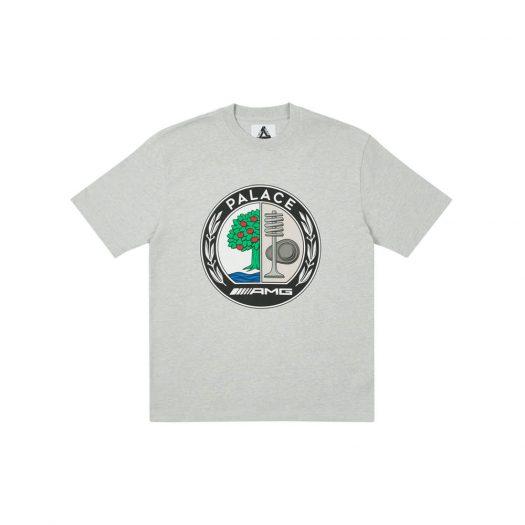 Palace AMG Emblem T-Shirt Grey Marl