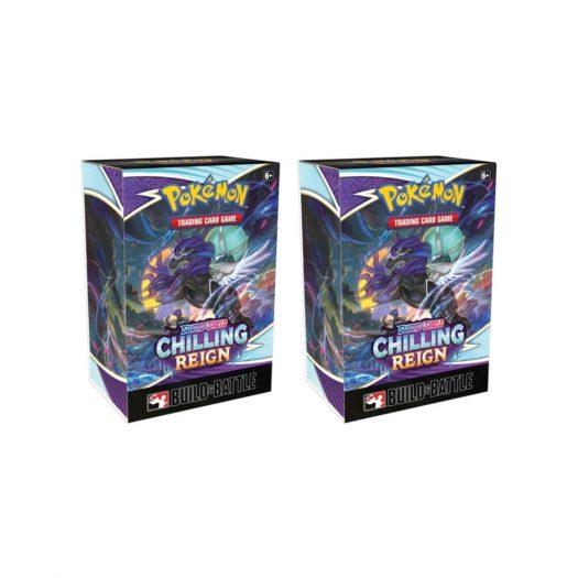 Pokémon TCG Sword & Shield Chilling Reign Build & Battle Box 2x Lot