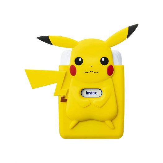 Fujifilm Instax Mini Link for Nintendo Switch with Pikachu Case Smartphone Printer Bundle