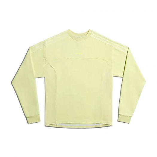 adidas Ivy Park Long Sleeve Crewneck Sweatshirt (Gender Neutral) Yellow Tint