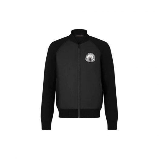 Louis Vuitton x NBA Leather Hybrid Jacket Black