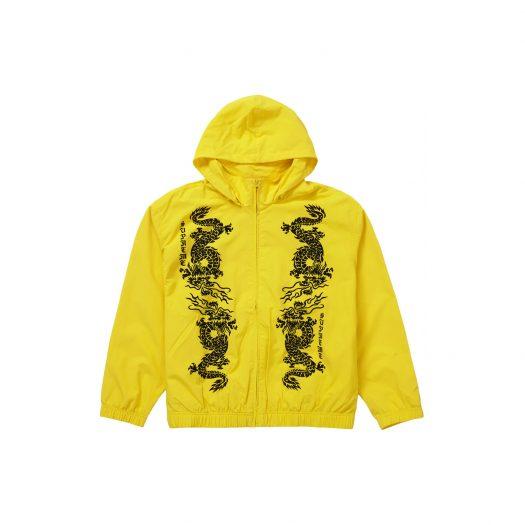 Supreme Dragon Track Jacket Yellow