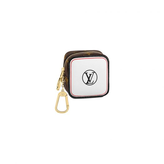 Louis Vuitton Cube Coin Purse Monogram Game On in Coated Canvas with Gold-tone
