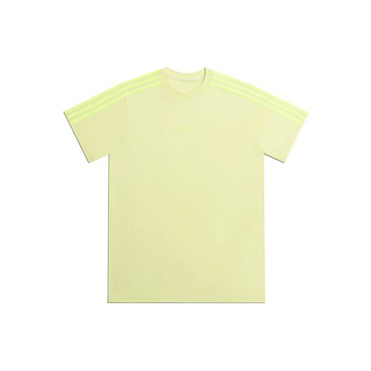 adidas Ivy Park 3-Stripes Tee (Gender Neutral) Yellow Tint