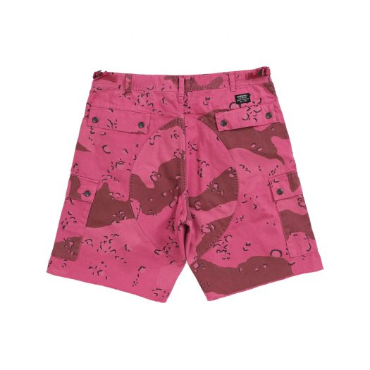 Supreme Overdyed Camo Cargo Short Pink