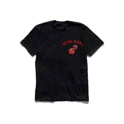 The Weeknd After Hours Dice Tee Black