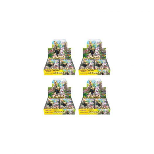Pokemon TCG Eevee Heroes Booster Box 4x Lot (Japanese)