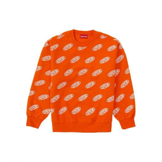 Supreme Liner Crewneck Orange
