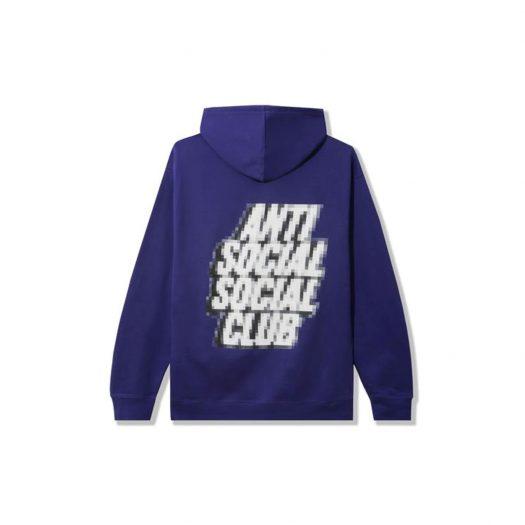 Anti Social Social Club Tokyo Hoodie Purple