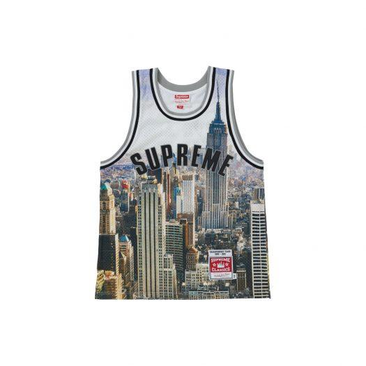 Supreme Mitchell & Ness Basketball Jersey Skyline