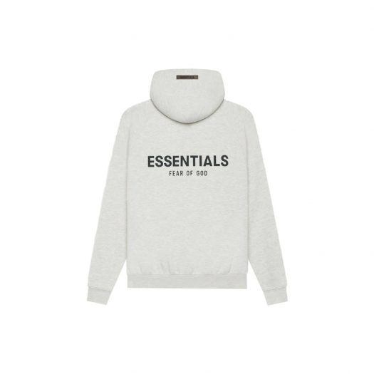 FEAR OF GOD ESSENTIALS Pullover Hoodie Light Heather Oatmeal