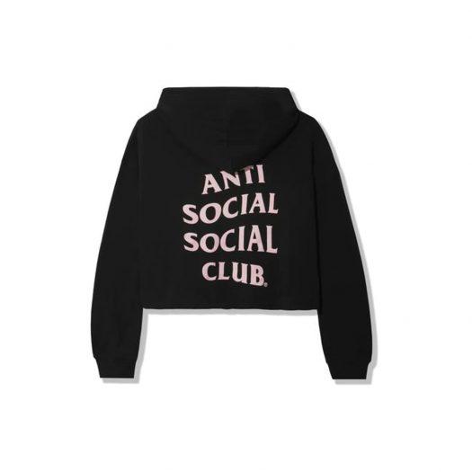 Anti Social Social Club ABG Crop Top Black
