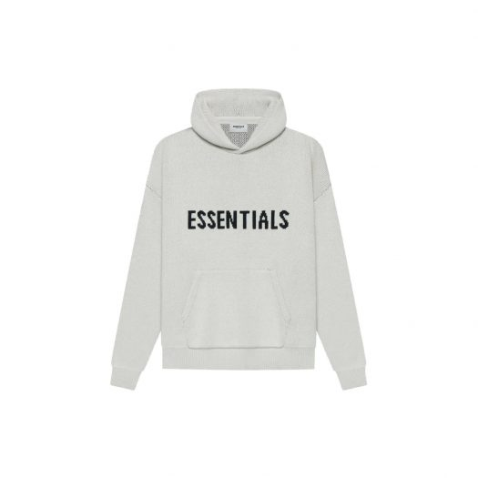 FEAR OF GOD ESSENTIALS Knit Pullover Light Heather Oatmeal