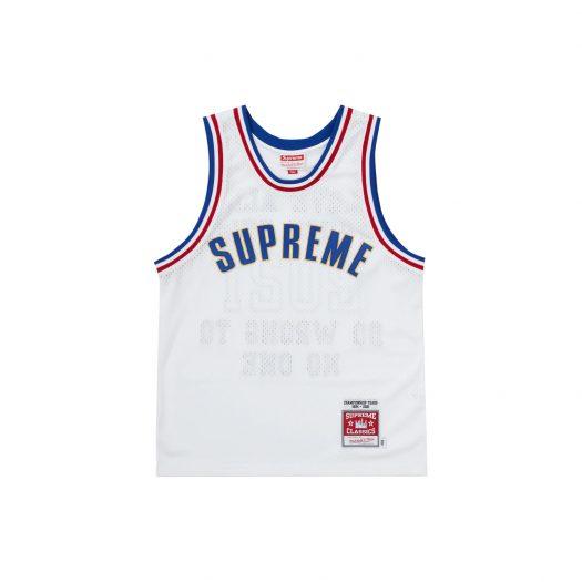 Supreme Mitchell & Ness Basketball Jersey White