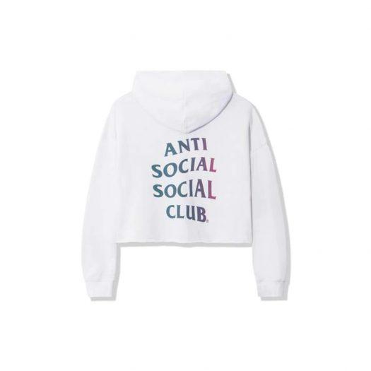 Anti Social Social Club ABG Crop Top White